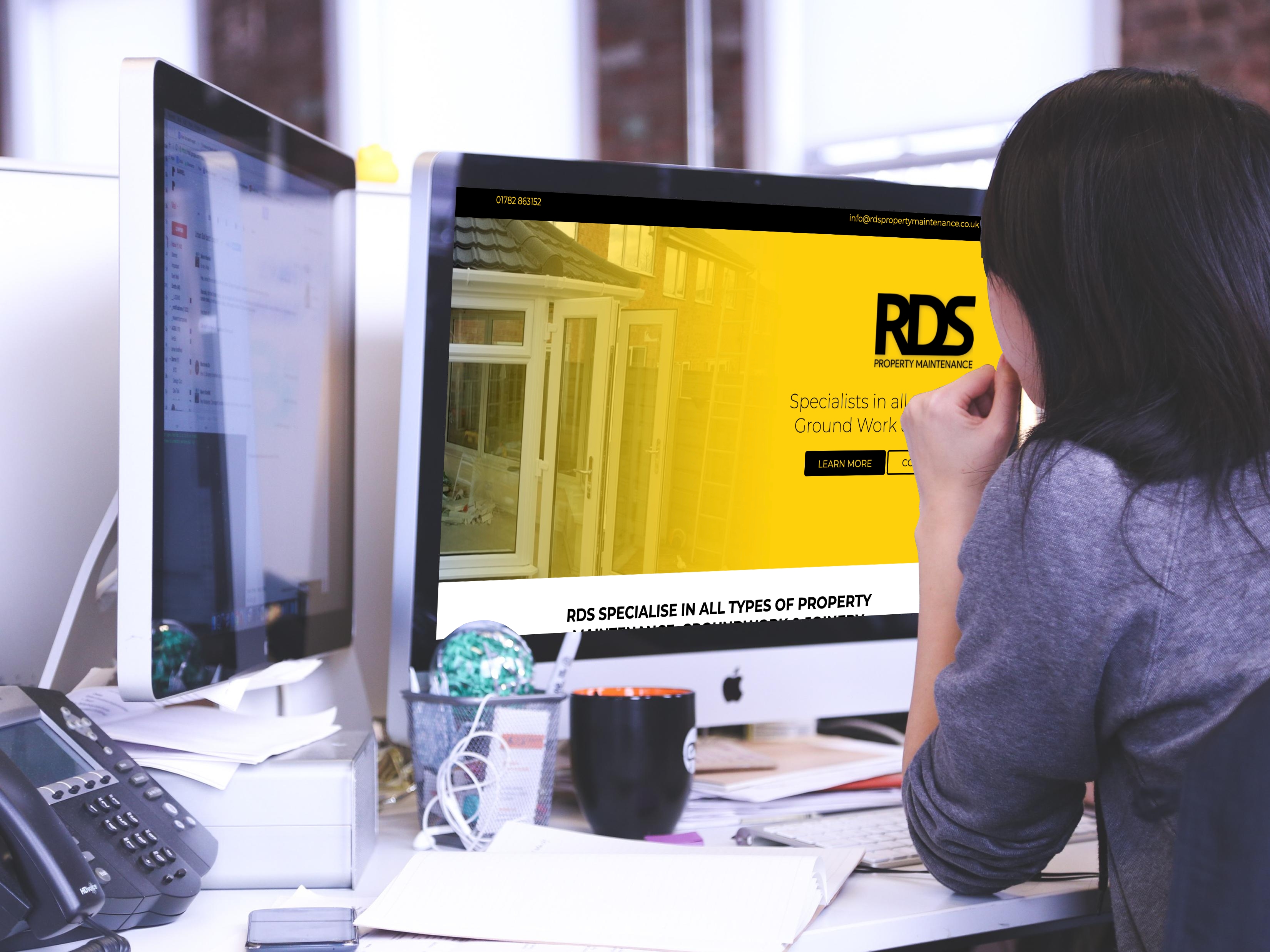Photo of MJL Digital's work completed for RDS Property Maintenance